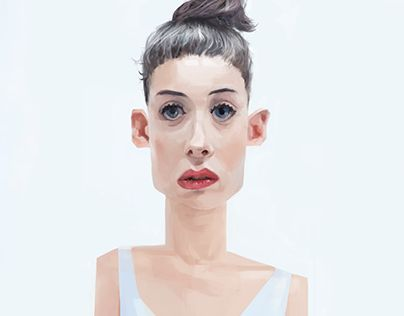 """Check out new work on my @Behance portfolio: """"Hmm...?, Digital Paint"""" http://on.be.net/1dn2lR1"""
