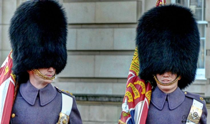 I took this photo during the Changing of the Guards at Buckingham Palace in London. It is quite a challenge to take decent photo during this event, since there are thousands of bystanders hanging by the fences.