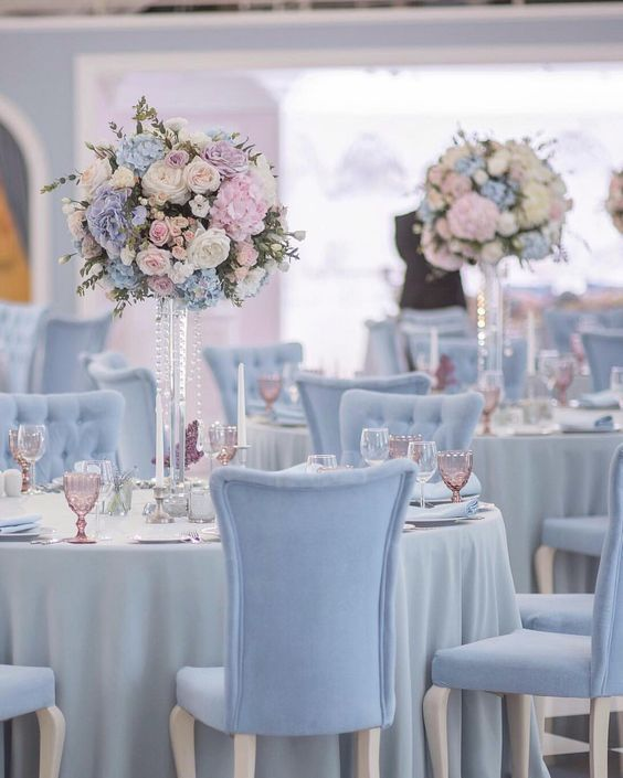 White And Blue Wedding Ideas: Blue And White Wedding Colors Decor Ideas And Inspo