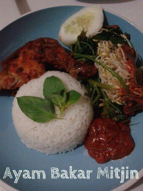 Ayam Bakar Bumbu Rujak, www.warungmitjin.co, Ubud-Bali