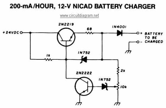 12 battery charger nicd