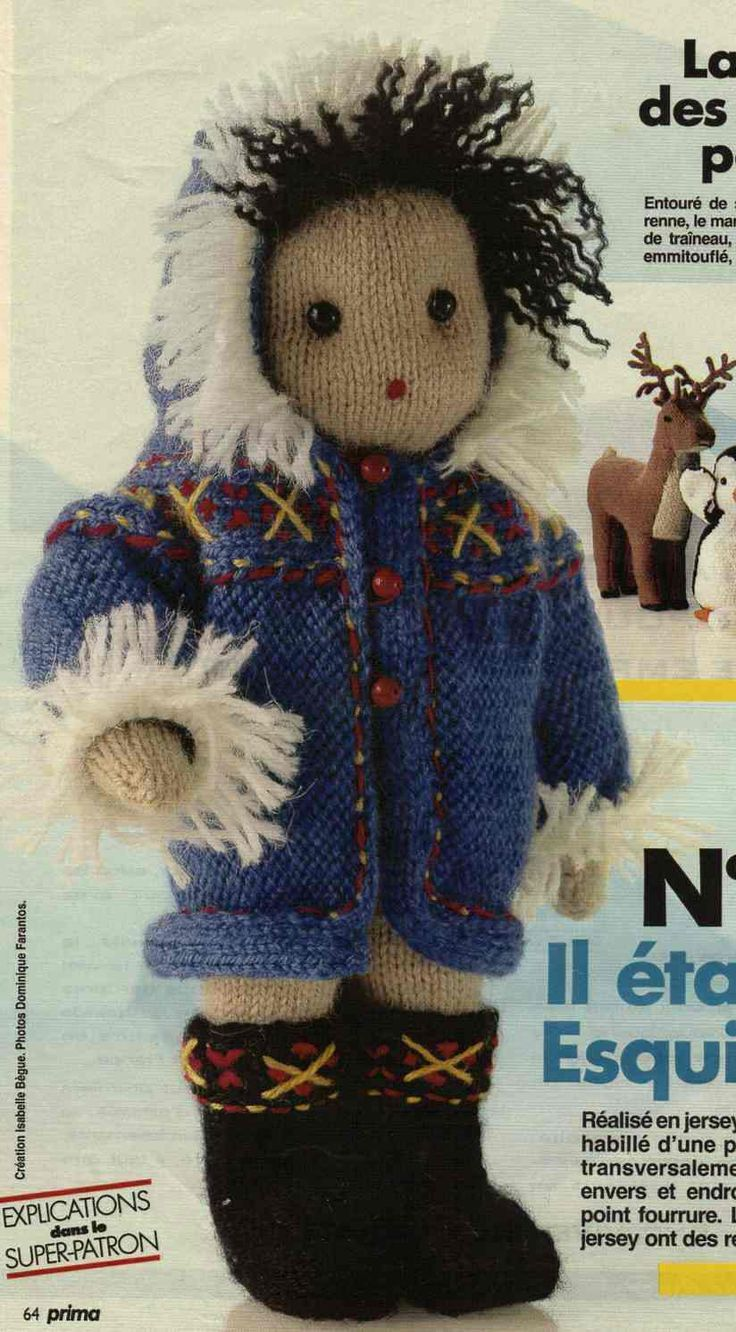 250 best Knit DOLLS free patterns, videos and tips images on ...