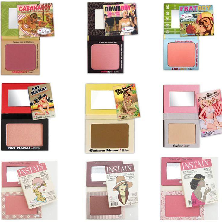 Cheap 9 PC / Cosmética Colorete El Bálsamo Instain Argle Encaje Pinstirpe caliente sexy Bahama Mama abajo pedo paleta cabaña chico maquillaje Blush, Compro Calidad Colorete directamente de los surtidores de China:
