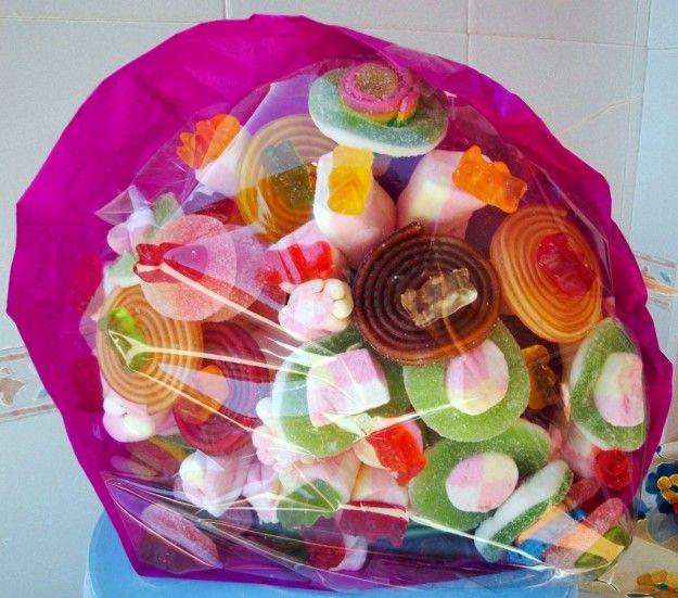 Bouquet di caramelle gommose