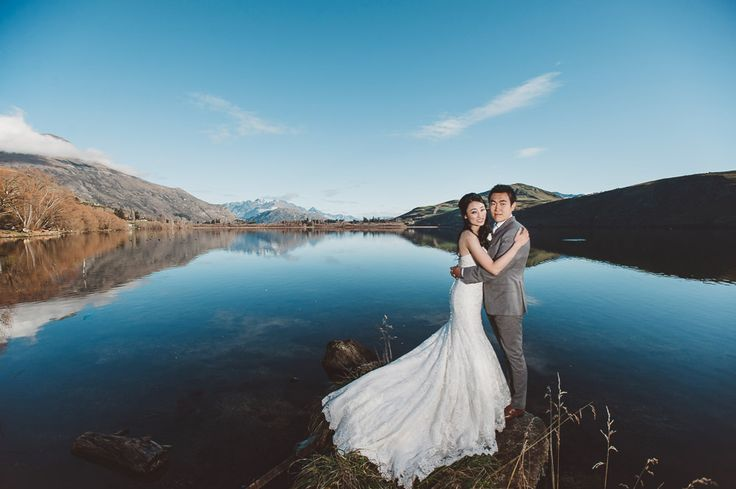 New Zealand Pre-Wedding Destination | South Island Queenstown | Shirlly & Ramon