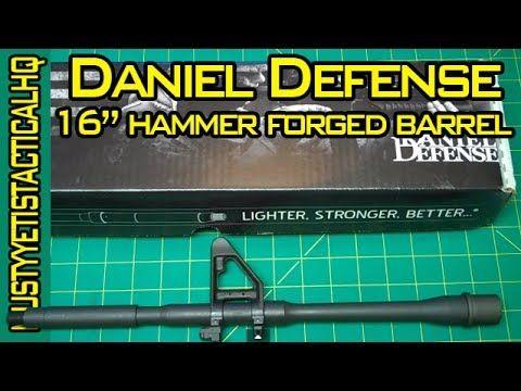 """Daniel Defense 16"""" Barrel :: Hammer Forged/Chrome Lined :: Musty Yeti - http://fotar15.com/daniel-defense-16-barrel-hammer-forgedchrome-lined-musty-yeti/"""
