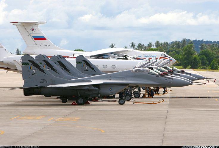 "Royal Malaysian Air Force Mikoyan MiG-29N ""Fulcrum-As"""