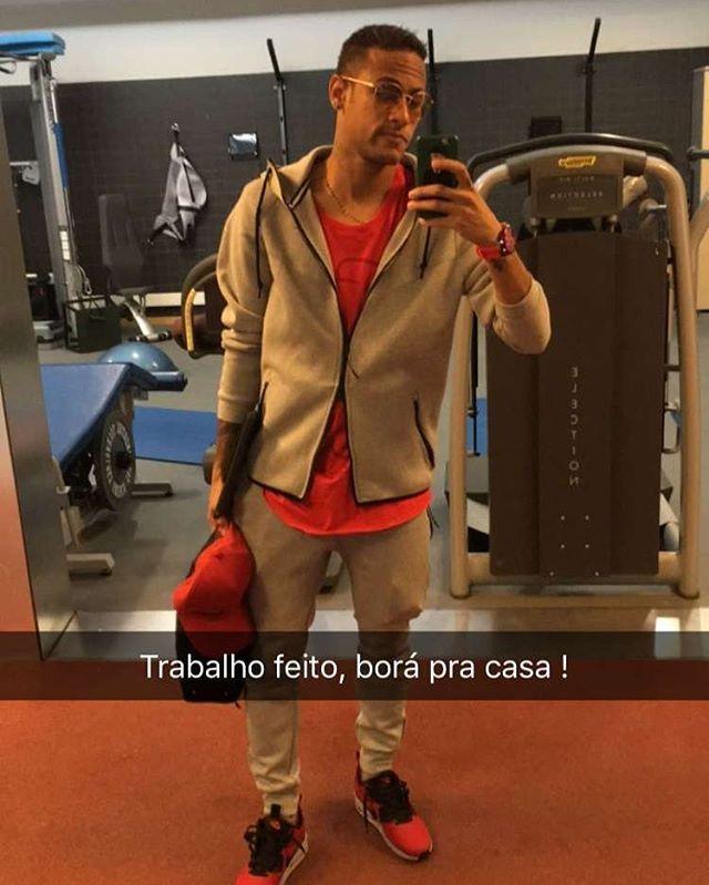 Ney no snap !! #Neymar #SnapChat : ene_jota