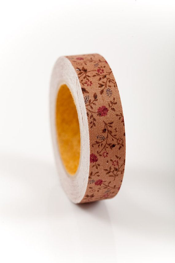Fabric Tape FT 007 Floral Mini Mums Olivia Love My Tapes
