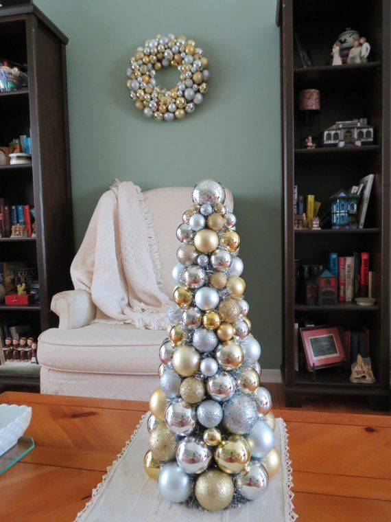 114 best Christmas Table Top Trees 2 images on Pinterest | Xmas ...
