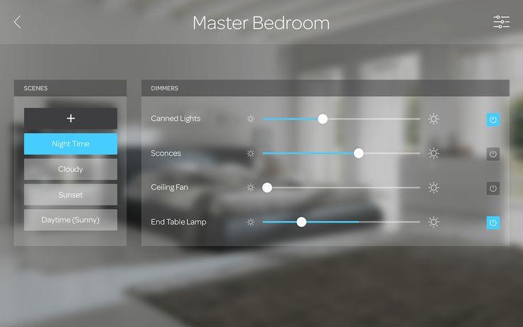 Home automation UI lights