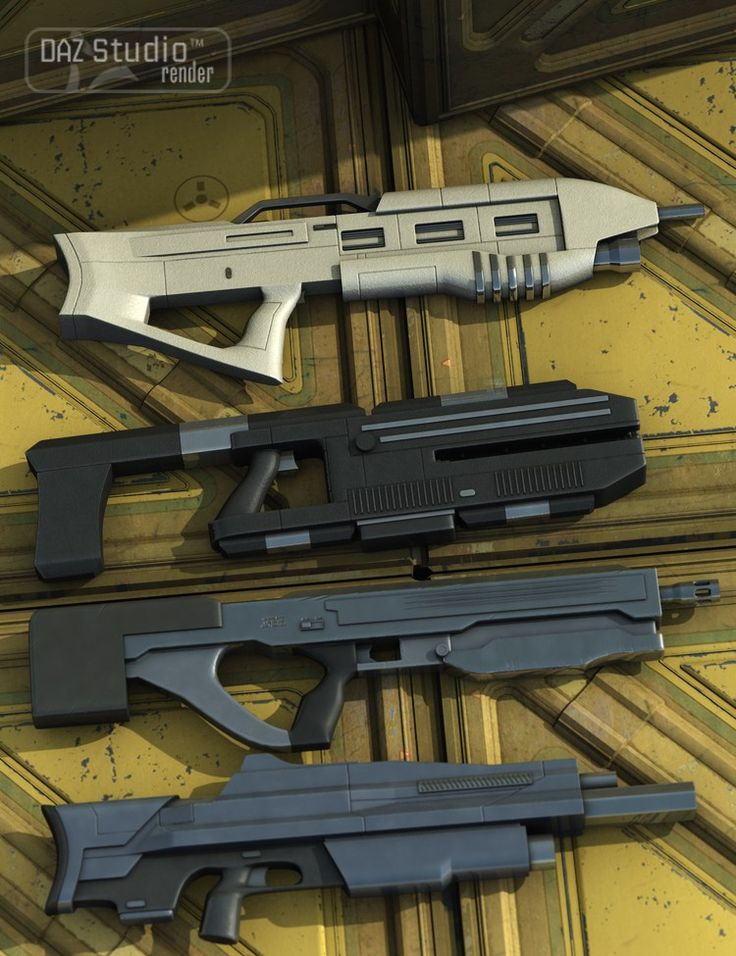 SciFi Firearms Pack