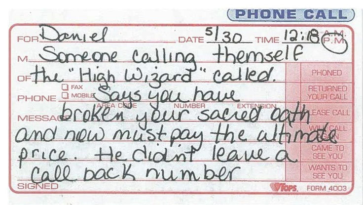Phone message for youWizards Call, Call Landline, Lunches Today, Funny Random, Deliver Messages, Cell Phones, Things Call, High Wizards, Phones Messages