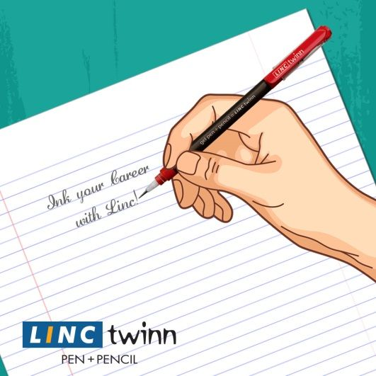 Make your handwriting better with the Linc!  #Handwriting #BetterHandwriting #Art #LincPens #Pen
