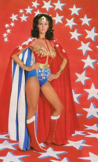 I'm not going to lie, I'm still a little upset that I didn't grow up to be Wonder Woman.  She had it all! Her name was Diana (not a stretch from Dianne), she was a librarian, she had a sexy yet awesome outfit (cape withstanding) and a semi lame plane and lasso...but I really liked her bracelets.