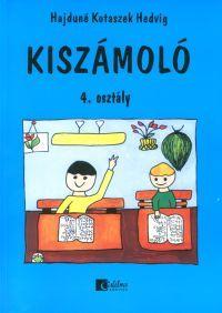 Borító: Kiszámoló 4. osztály (Könyv) - Hajduné Kotaszek Hedvig