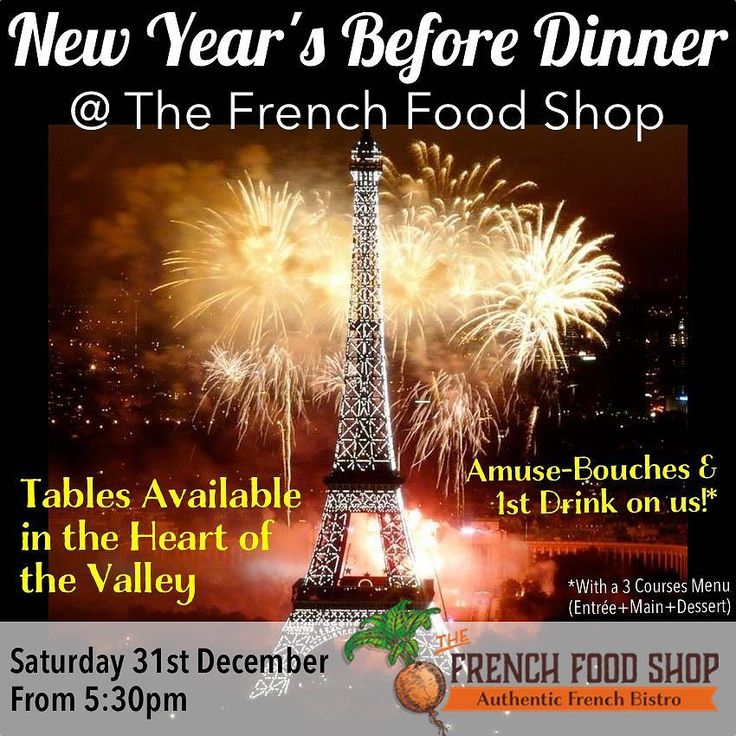 Celebrate the New Year amidst French flair   #frenchfoodshop #fortitudevalley #NYE2016 #firsttable #NYE #mustdobrisbane #brisbanefoodie #brisbanerestaurant #brisbanerestaurants #french #restaurant #restaurateur #hospitality #industry #brisbane #brisbanefood