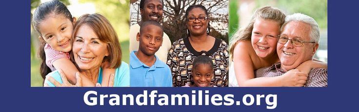 Three images of diverse grandparents raising grandchildren