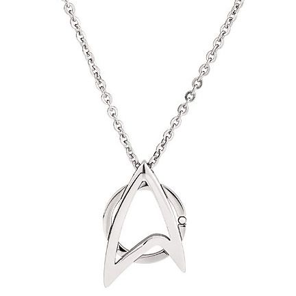 Star Trek Starfleet Necklace I want one!