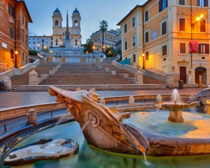 Bulgari To Finance Renovation of Rome's famous Spanish Steps ~ Luxury Ideas