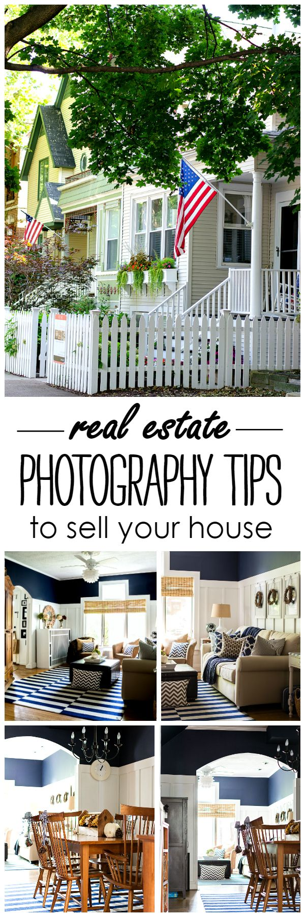 Photography Tips for your for sale by owner (FSBO) real estate listing; quick and easy tips on how to make your real estate listing stand out