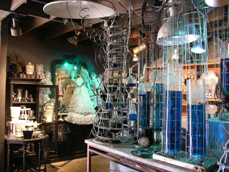 Mad scientist lab-Roger's Gardens