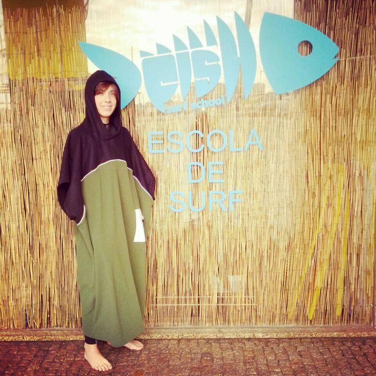 Poncho surf www.fishsurfschool.com