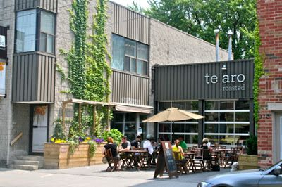Te Aro in Leslieville (Toronto Urban Strolls: TOP-10 Toronto urban patios)