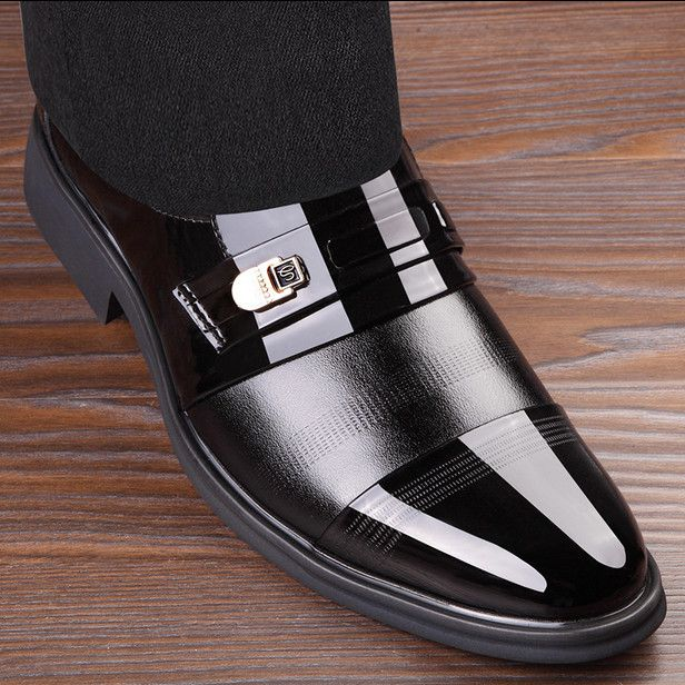 For Sale $19.65, Buy In stock!High Quality Pu Leather Shoes Men,Lace-Up Wedding Shoe,Men Dress Shoes,British Style Fashion Men Oxford For Male Father