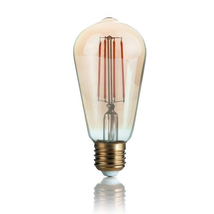Bec LED VINTAGE E27 4W CONO 151694 - Corpuri de iluminat, lustre, aplice