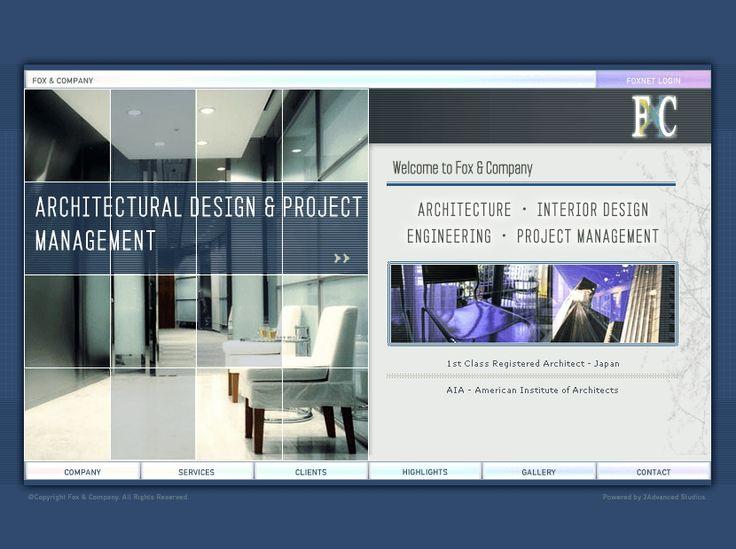 Fox & Company website in 2002