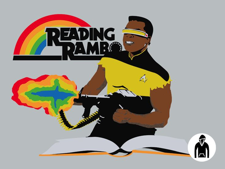 Reading Rambo Pullover Hoodie - AMAZING!!!