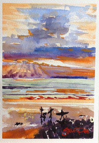 The Art of Steve PP | Watercolour World | Pinterest | Art, Art diary and Watercolor paintings