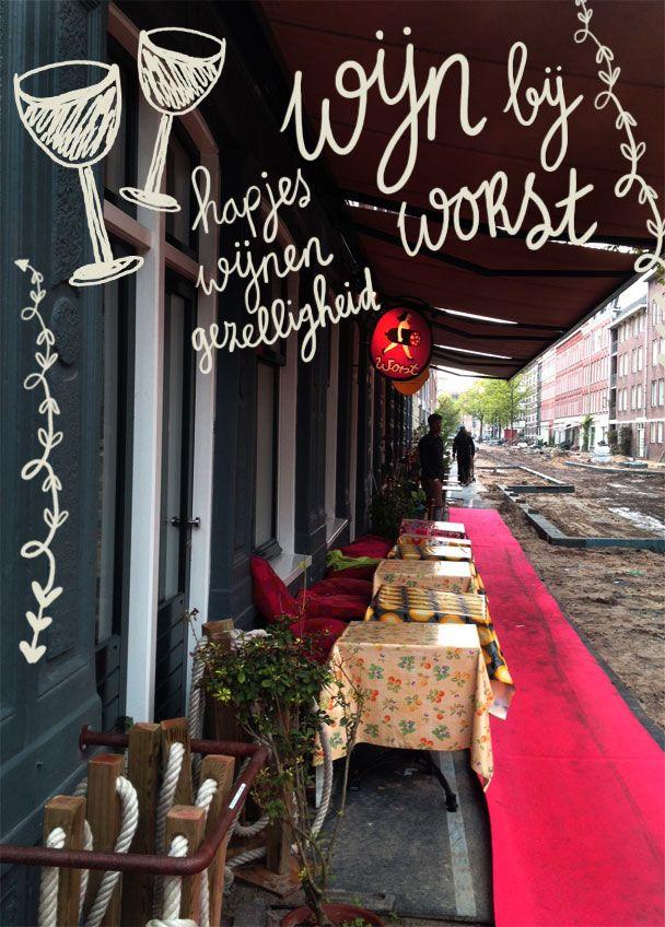 Food Hotspots | Masterclass Wijnproeven bij Worst | #amsterdam #tip #address #hotspot #shop #food #coeurblonde #worst