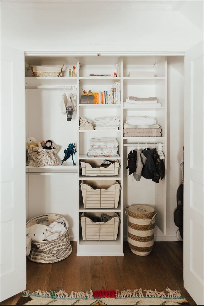 A Touch Of Whimsy For Fashion Blogger Alicia Lundu0027s New Nursery #closet. We  Helped