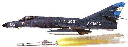 1/144 resin Dassault Super Etendard Argentine ARMADA