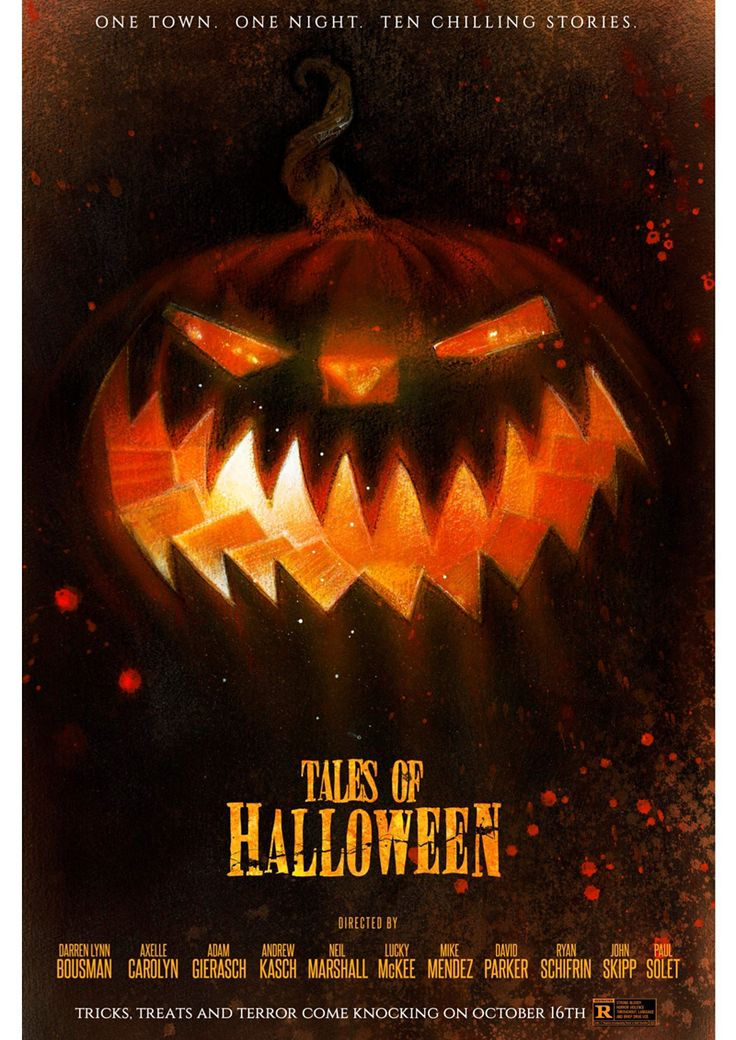 Tales of Halloween first look: Star Wars artist Drew Struzan paints poster for horror anthology | EW.com