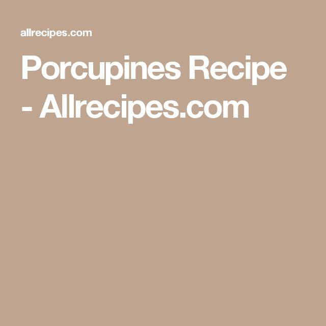 Porcupines Recipe - Allrecipes.com