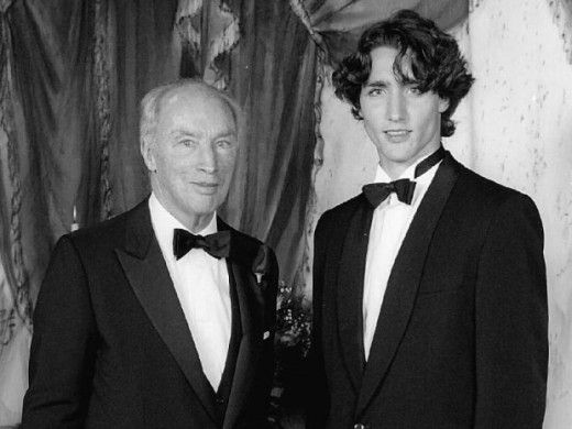 Pierre Trudeau and his eldest son, Justin  When Canada's Liberal Party leader Justin Trudeau won the October 2015 election by a landslide, a political dynasty was born.