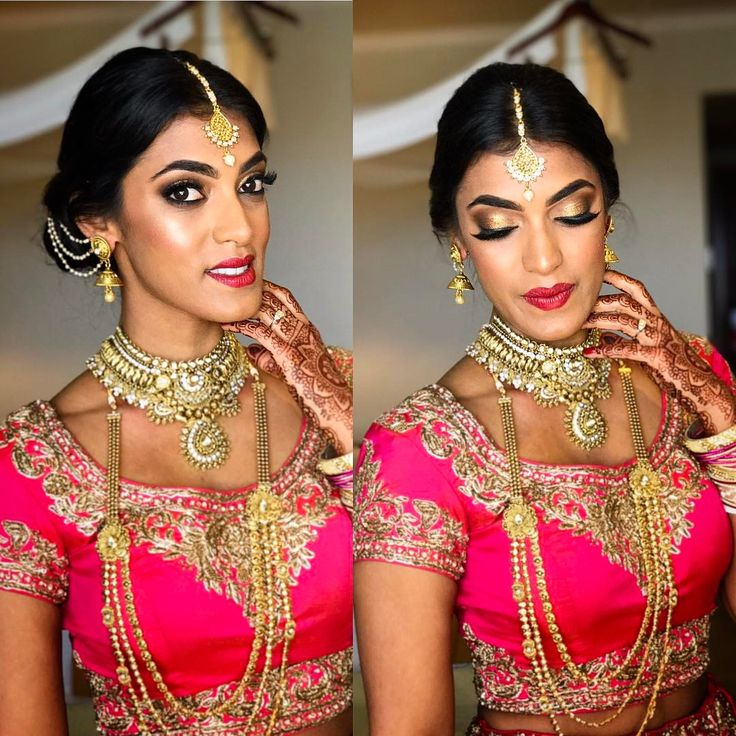 Hindu bridal makeup 2017  Airbrush makeup, indian brides