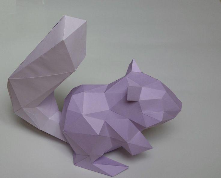 Ber ideen zu 3d paper crafts auf pinterest for Raumgestaltung do it yourself