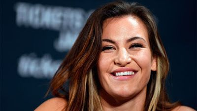 """Miesha Tate is up for the challenge to face Invicta FC champion Cris """"Cyborg"""" Justino in the Octagon."""