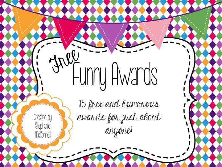 7 Best Funny Awards Images On Pinterest Award Certificates