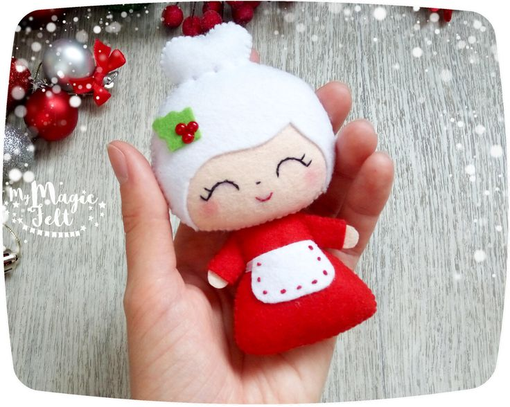 Christmas ornaments Santa and Mrs Claus ornament felt Santa ornament for Christmas tree decorations Christmas accents Xmas decorations This item is Made to Order (4-6 weeks for making) ● Dimensions - about 4.2 and 4.4 inch ● Made of high-quality eco-friendly polyester felt ● Delicately filled with polyester fiber filler ● 100% handmade (hand-cut and hand-sewing) ❄❄❄ Please note ❄❄❄ ● Colors may vary slightly from those shown on the monitor ● This item is 100% handmade and made to order, i...