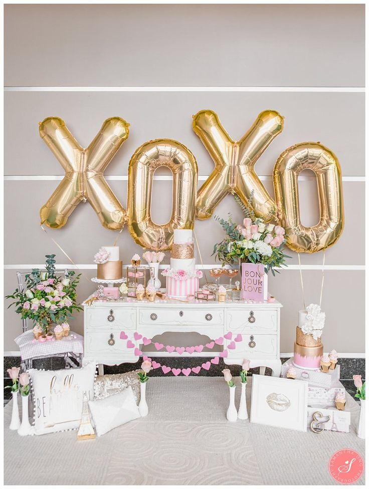 "This Valentine's Day I collaborated with some amazing vendors in Toronto in putting together a deliciously pink sweet dessert table. It was such an awesome way to celebrate this fun day! Christine at Amidst The Chaos styled the table. She says: ""For this Valentine's tablescape, my vision really started with something soft and delicate. Light, champagne golds …"