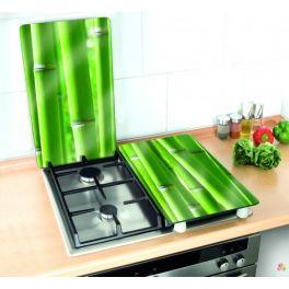 Tapa vitroceramica de cristal universal Bambu 28 € + gastos de envio. Entra en renovabaño.com y mira nuestros productos,.