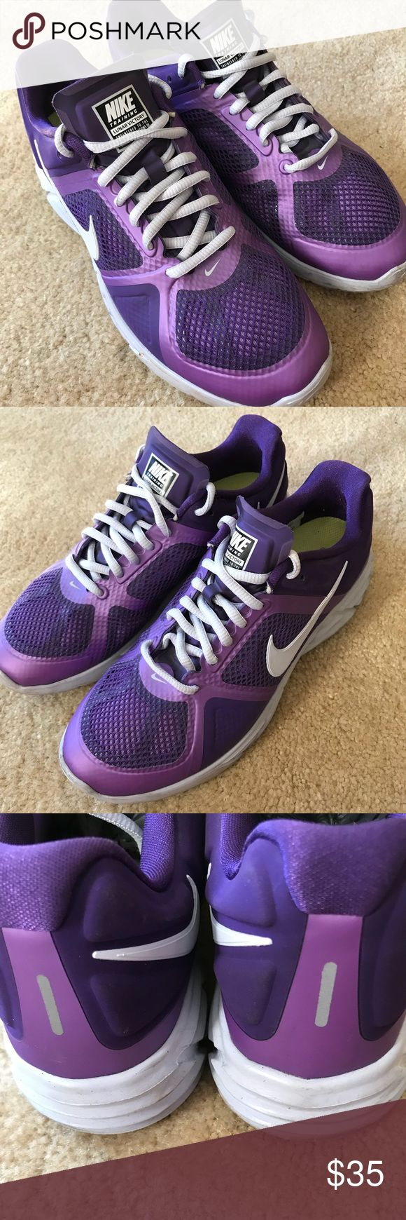 Nike Lunar Victory Size 8.5 Purple Nike running shoe, in excellent condition! Size 8.5 Nike Shoes Sneakers