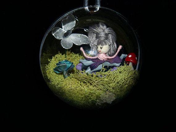 Bubble Garden 15  Faerie Fairy Miniature Mushroom by FaerieNursery, $40.00