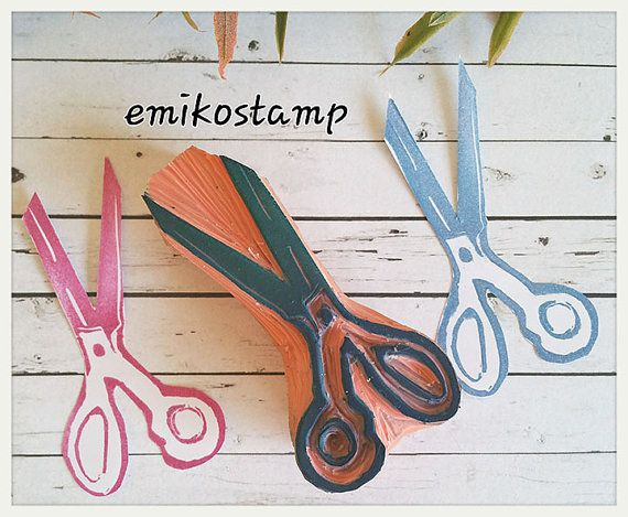 Check out this item in my Etsy shop https://www.etsy.com/listing/491742106/scissors-rubber-stampvintage-sewing