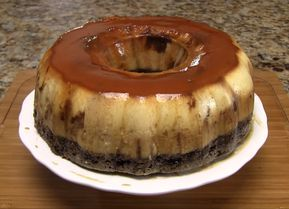 Chocoflan - Prajitura de ciocolata cu zahar ars (Prajitura Imposibila)